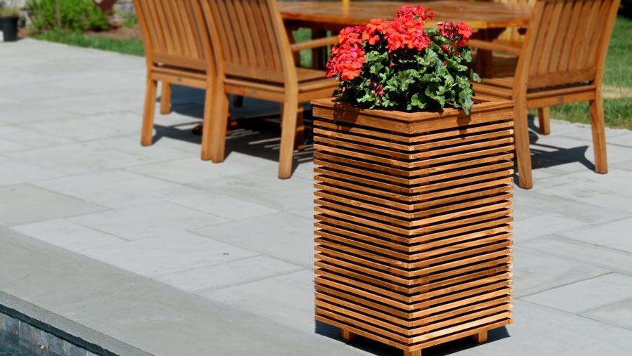 audio-speakers-in-a-planter
