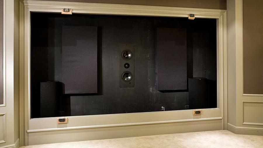 hidden speakers home theater Washington, DC area