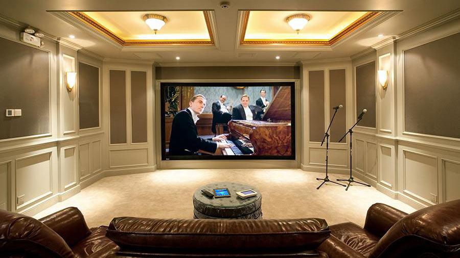 home theater design Washington, DC area