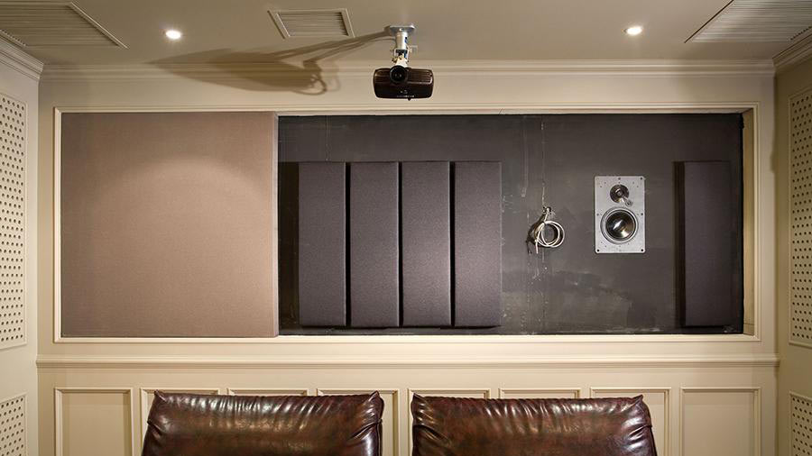 room sound treatments home-theater Washington, DC