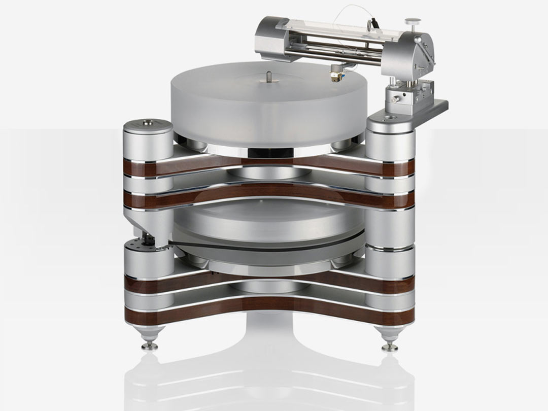 Clearaudio Master Innovation turntable silver front