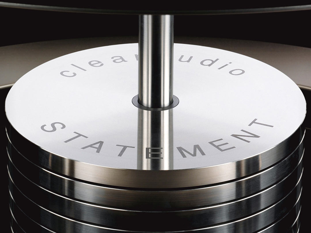 Clearaudio Statement turntable weights
