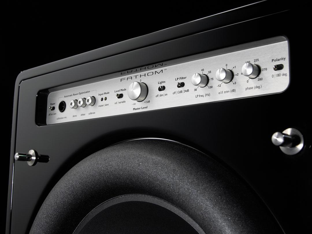 JL Audio Fathom powered subwoofer detail