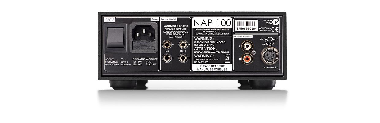 Washington DC Virginia Maryland Naim NAP 100 Power Amplifier Authorized Dealer