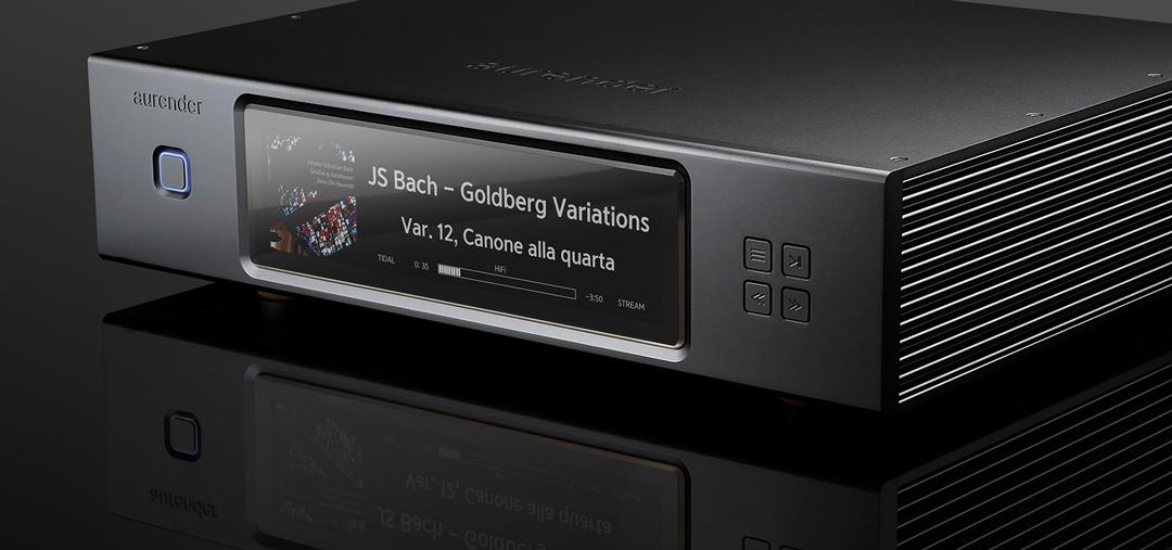 Aurender N20 caching music server + streamer in black authorized dealer