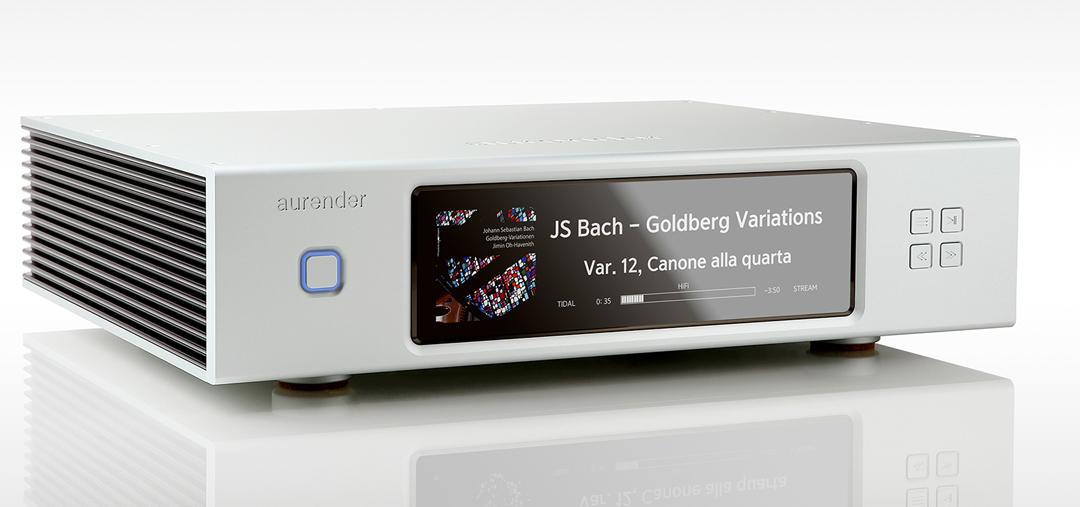 Aurender N20 caching music server + streamer in silver authorized dealer
