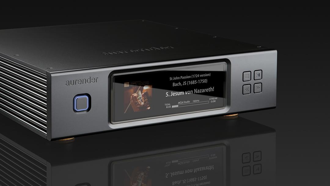 Aurender N200 music server streamer in black