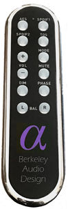 berkeley alpha dac series 3 remote