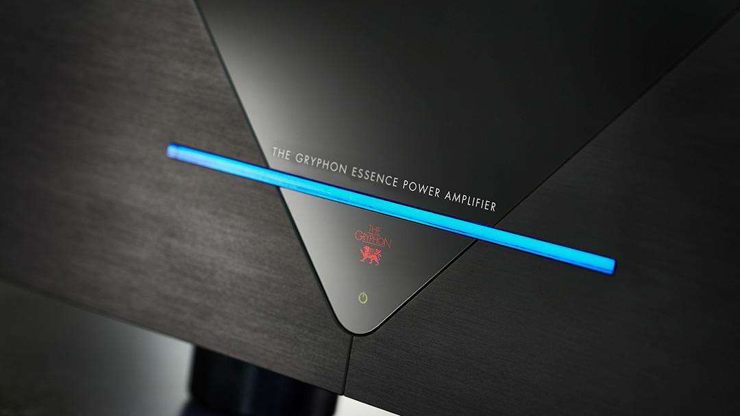 gryphon essence mono power amplifier front detail