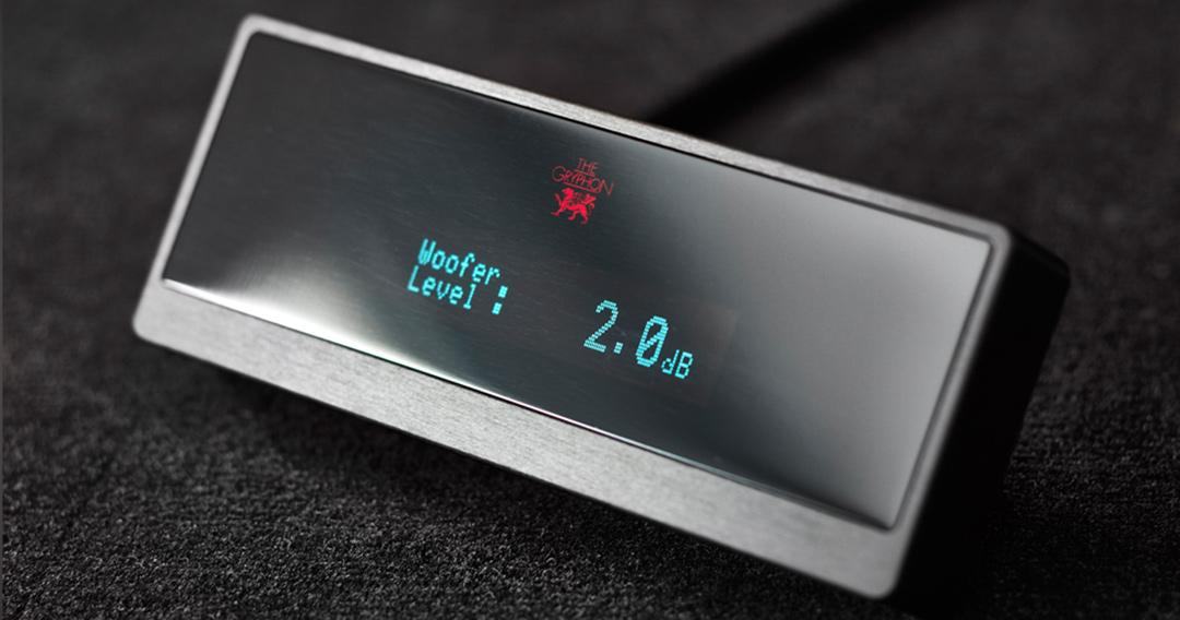 gryphon kodo loudspeakers bass display