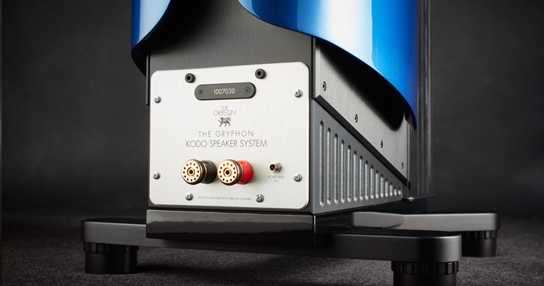 gryphon kodo loudspeakers binding posts
