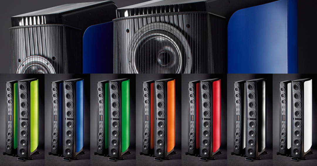 gryphon kodo loudspeakers color range
