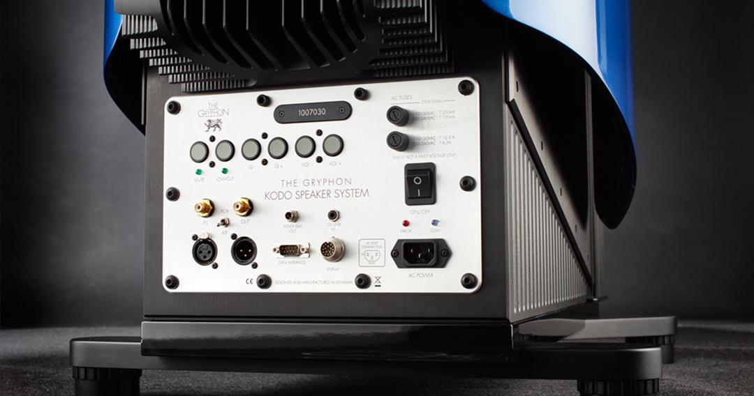 gryphon kodo loudspeakers panel