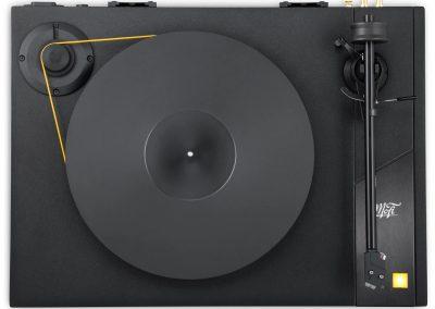 MoFi Electronics StudioDeck Turntable top view