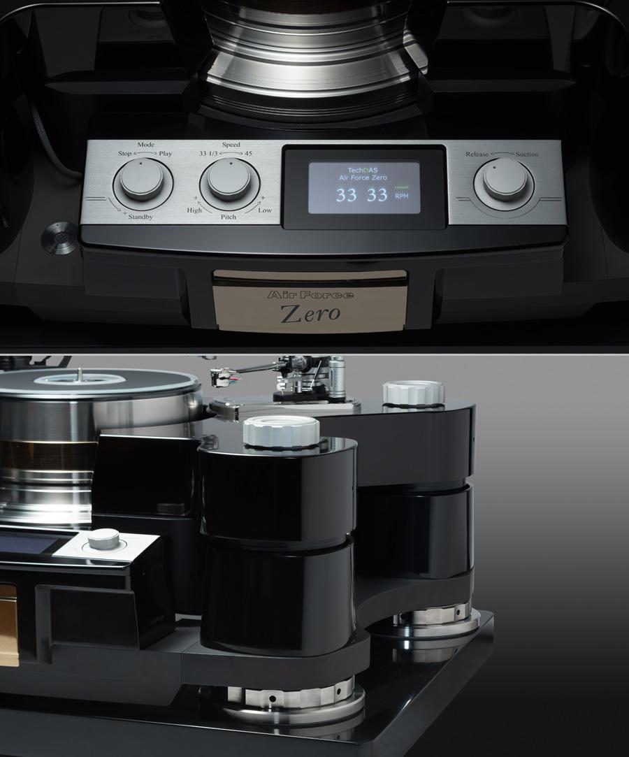 TechDAS Air Force Zero audiophile turntable design