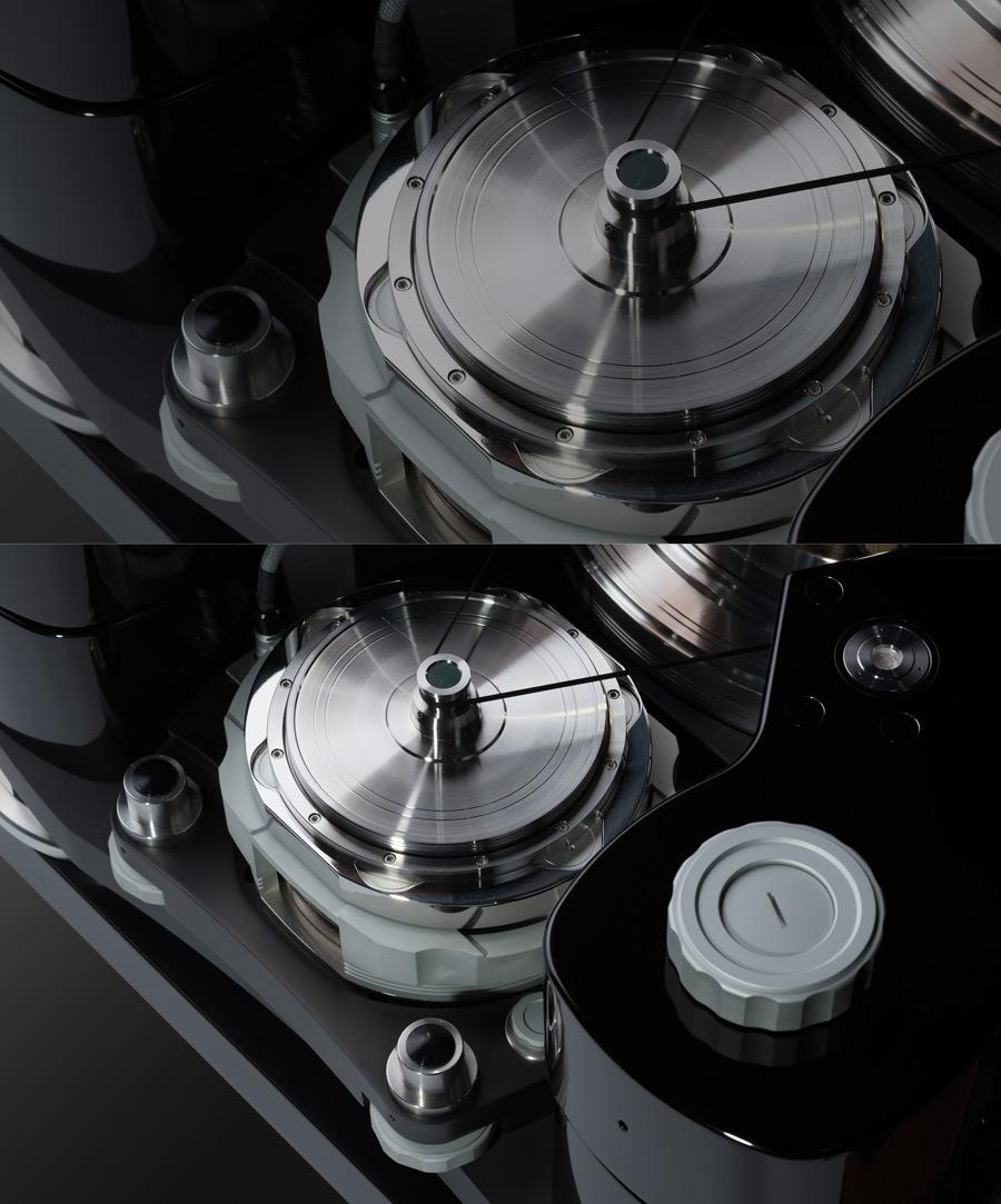 TechDAS Air Force Zero turntable motors