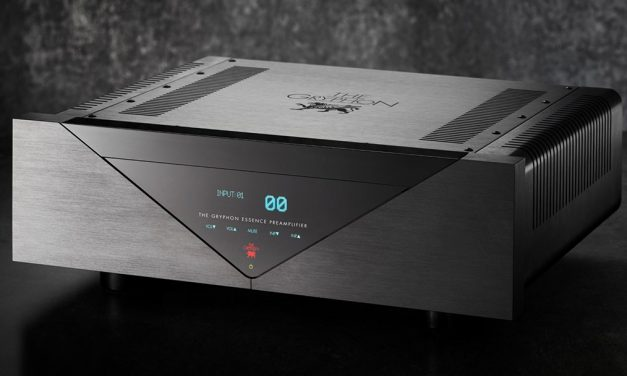 The Gryphon Essence Preamplifier