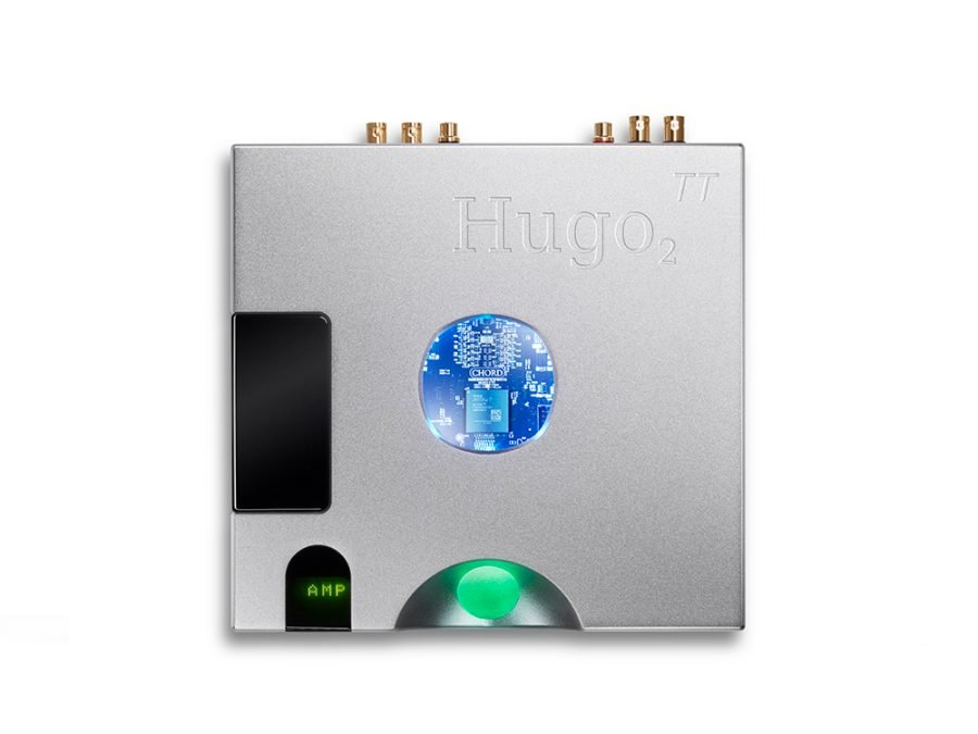 Washington DC Virginia Maryland Chord HUGO TT 2 DAC preamplifier headphone amplifier top view