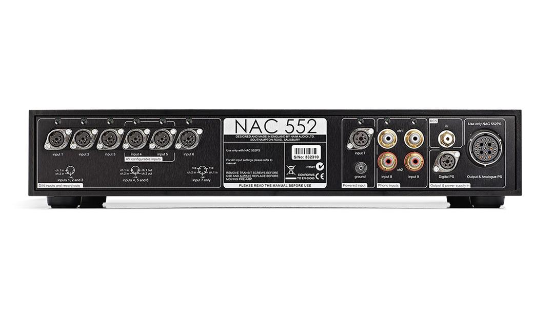 Washington DC Virginia Maryland Naim NAC 552 Preamplifier