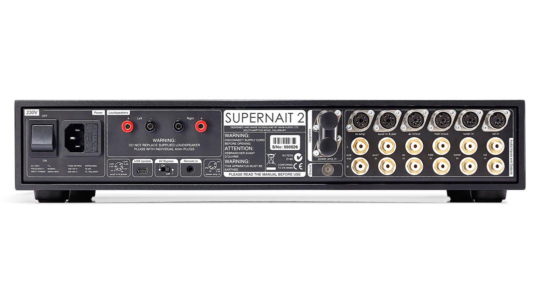 Washington DC Virginia Maryland Naim Supernait 2 integrated amplifier