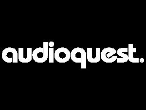 audioquest logo white