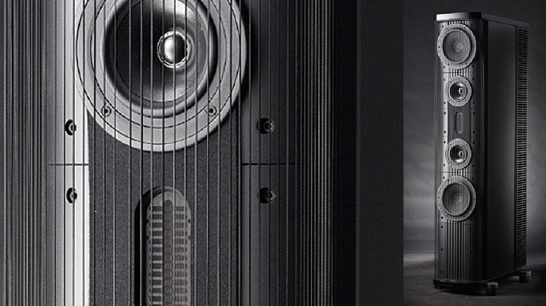gryphon pantheon loudspeakers closeup