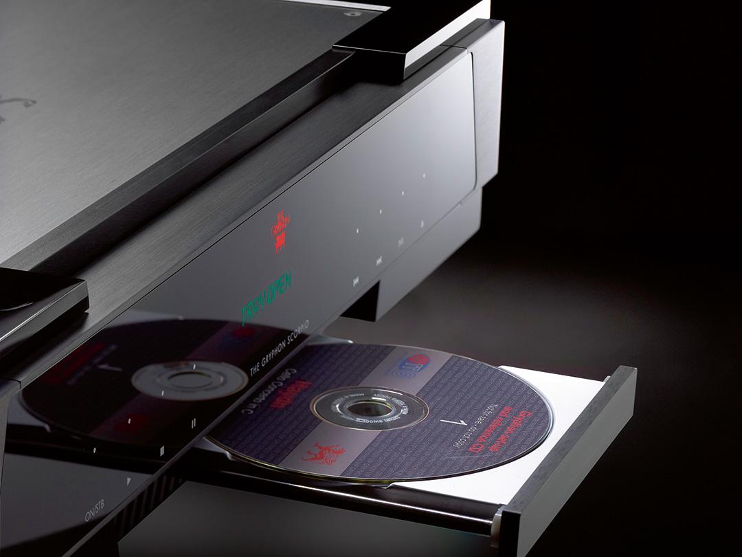 gryphon scorpio s cd player tray open