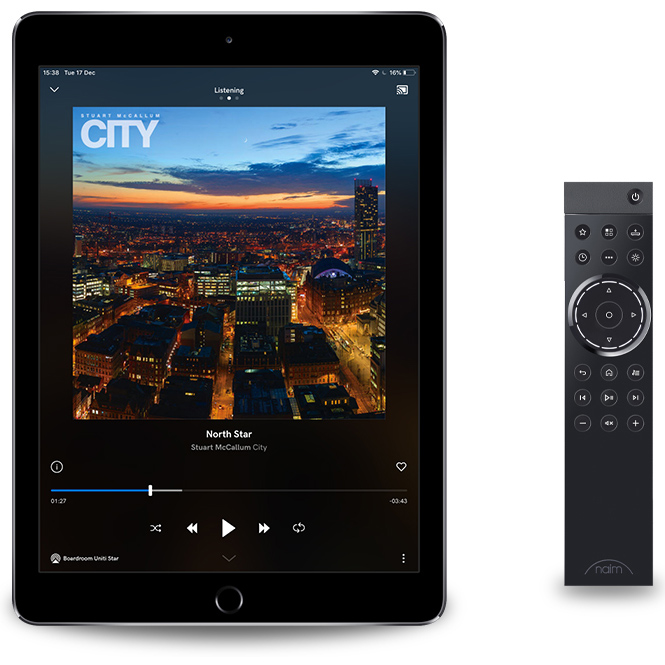 naim app remote