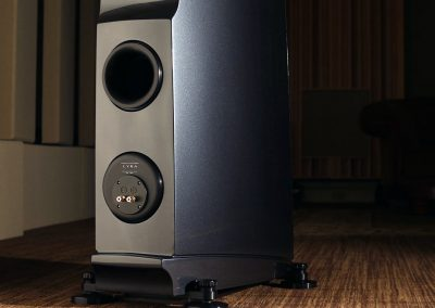 rockport lyra loudspeakers back