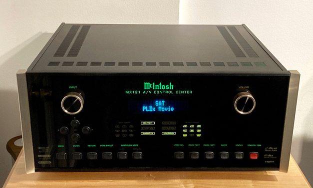 McIntosh MX121 Surround Sound Pre-Processor