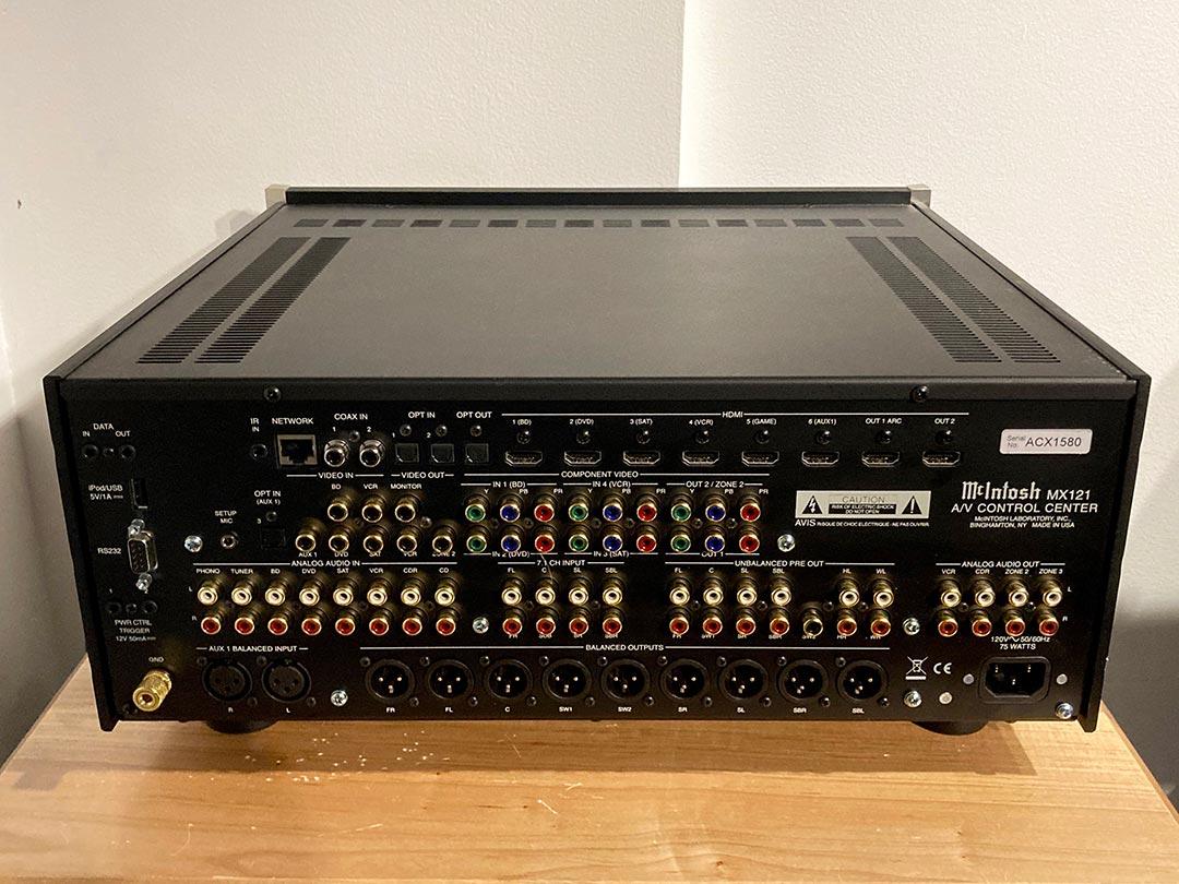 used McIntosh MX121 Surround Sound Pre Processor for sale