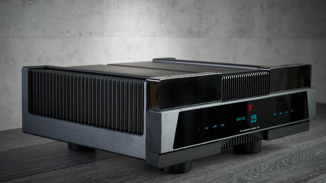 washington dc virginia maryland east coast Gryphon Audio Diablo 120 integrated amplifier dealer side quarter view